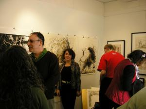 Solo Show-2011 Flat Iron Gallery Peekskill, New York